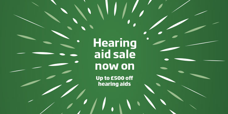 Hearing aid sale now on