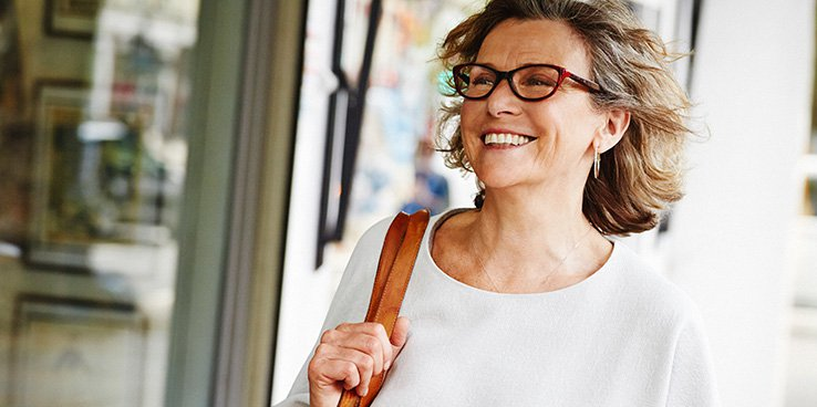 25% off glasses for over 60s
