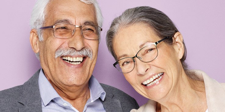 25% off glasses for over 60s from £69
