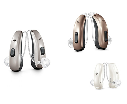 Digital hearing aid range