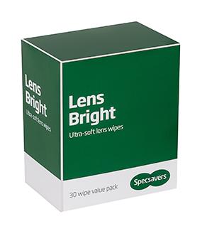 Ultra soft lens wipes
