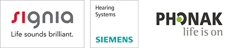 Signia, Siemens, phonak