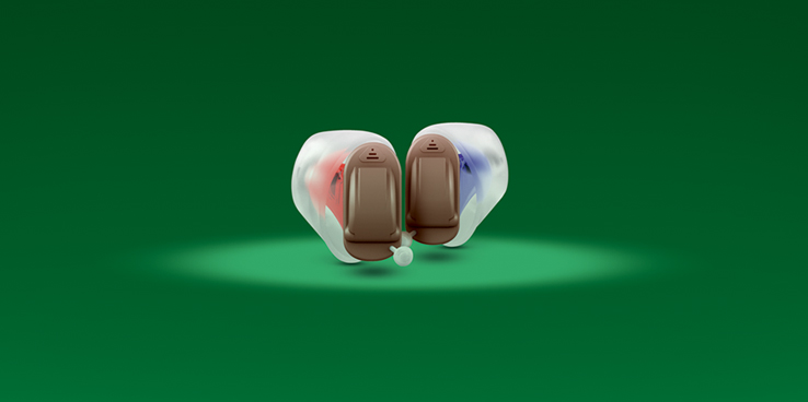 New invisible hearing aids