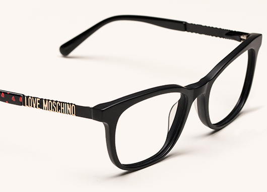 Black Frame Glasses Specsavers : Featured Love Moschino Glasses Specsavers UK