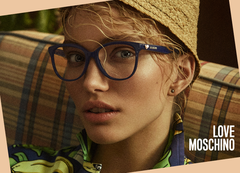 4cb0cc13e02a New designer glasses from Love Moschino 2 complete pairs from £129