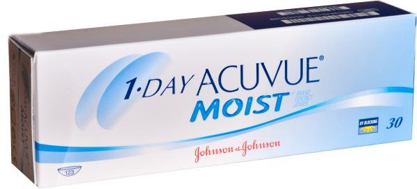 Jednodenn0ed hydrogelov0e9 kontaktn0ed 10do10dky 1-day acuvue moist poskytuj0ed vysokou ochranu proti uv z0e1159en0ed a snadno se