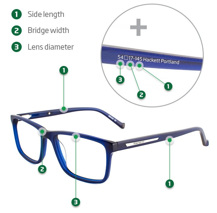 a37642f77d The side should be long enough to sit comfortably over your ears. Glasses  with straight sides don t always have this measurement indicated.