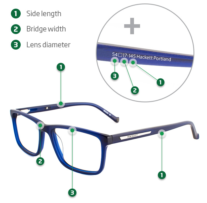 Glasses Frame Measurements – Finding The Right Fit | Specsavers UK