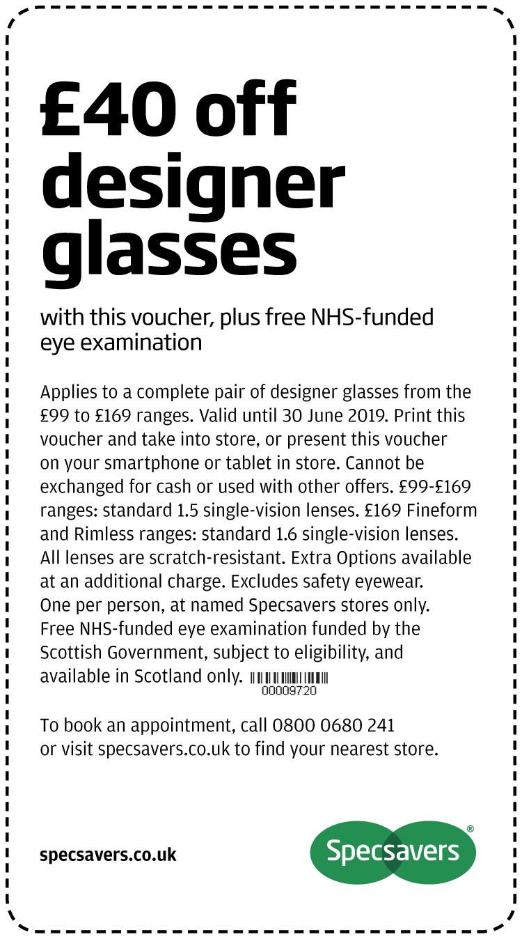 £40 designer glasses