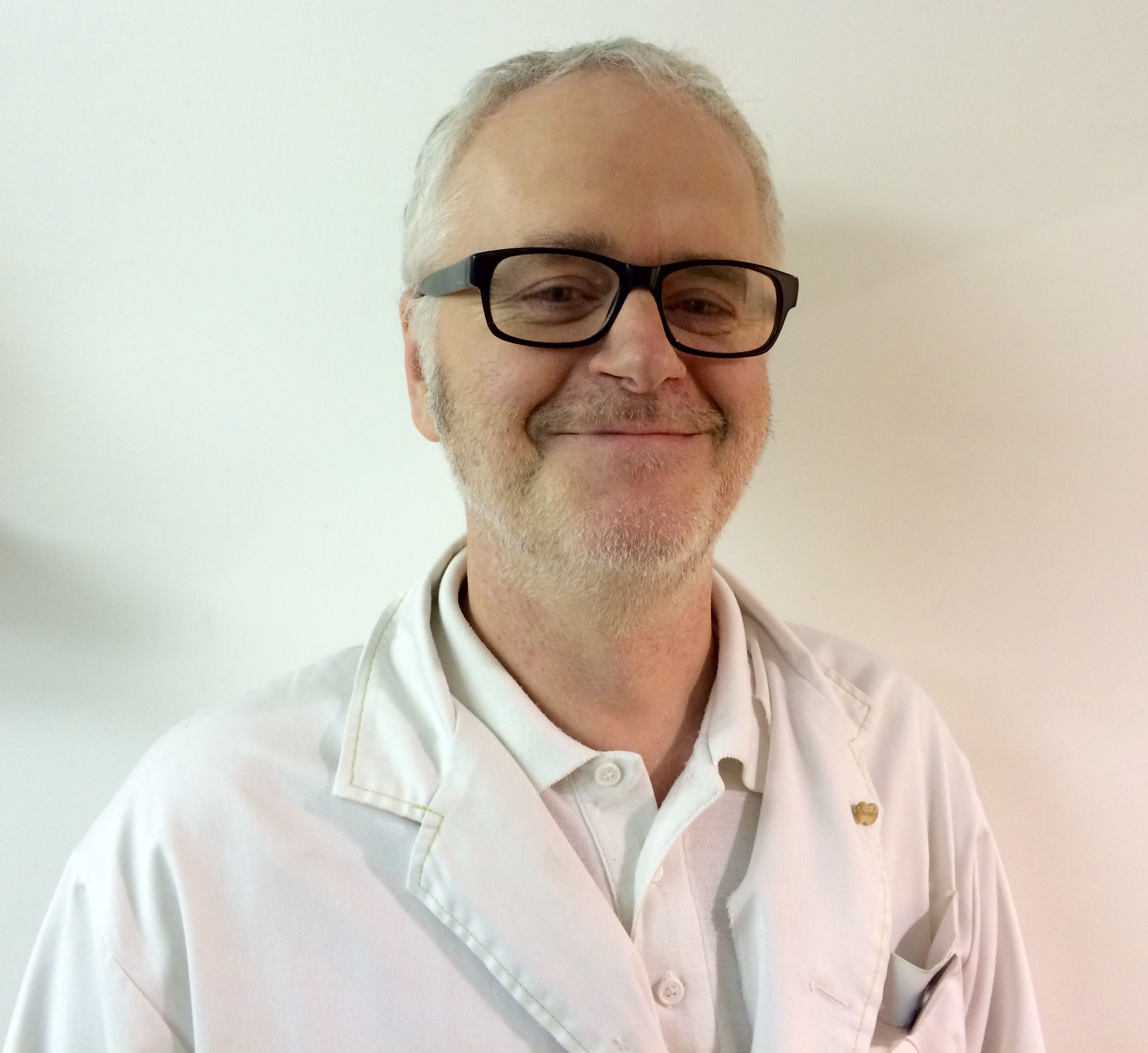 Alistair Laurie, lab manager at Specsavers Worthing