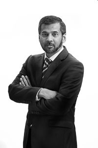 Director of the Camden Specsavers store, Naveed Nayab