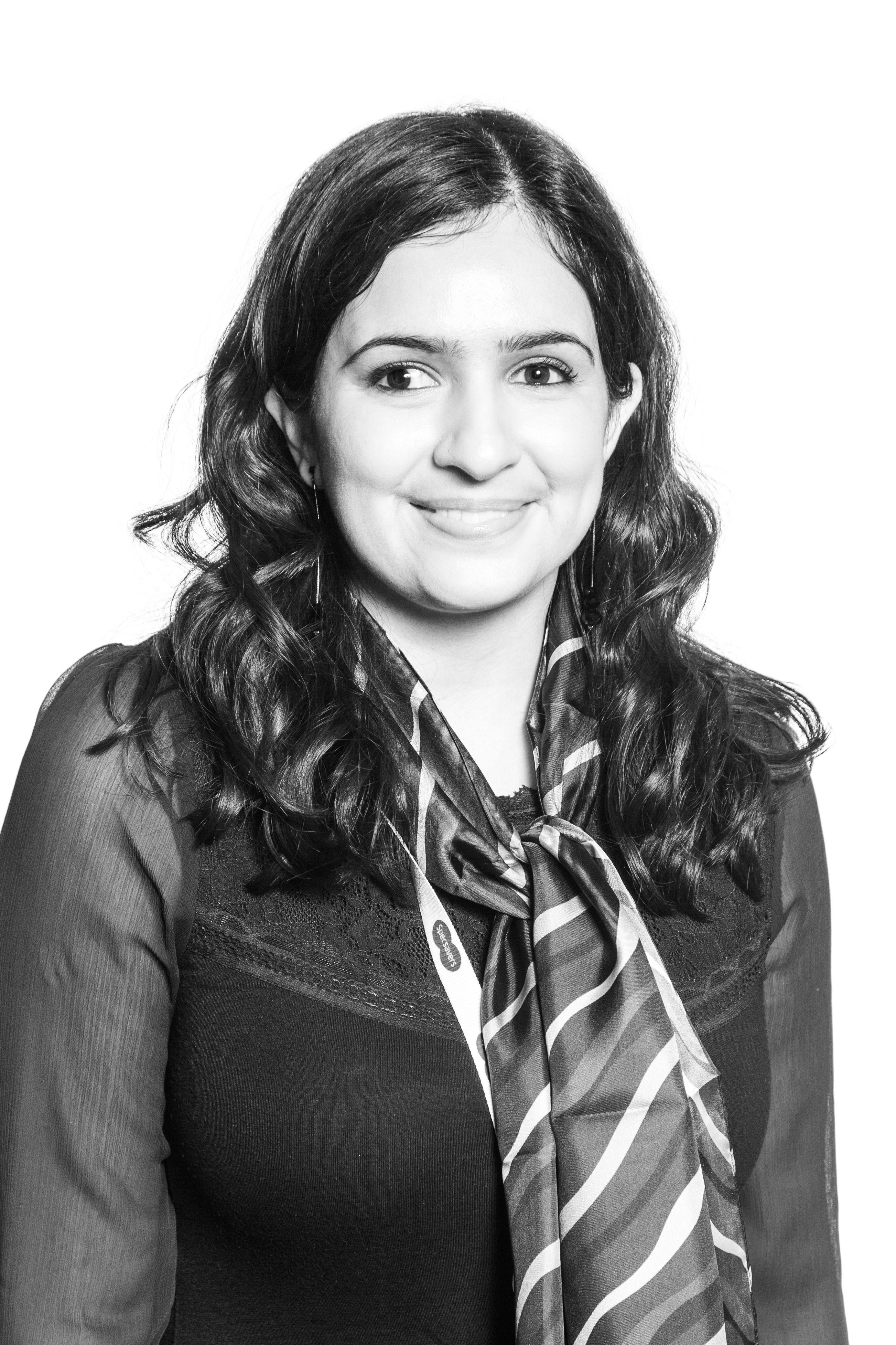 Shilpa Gadhia director and optometrist at the Kingsbury store