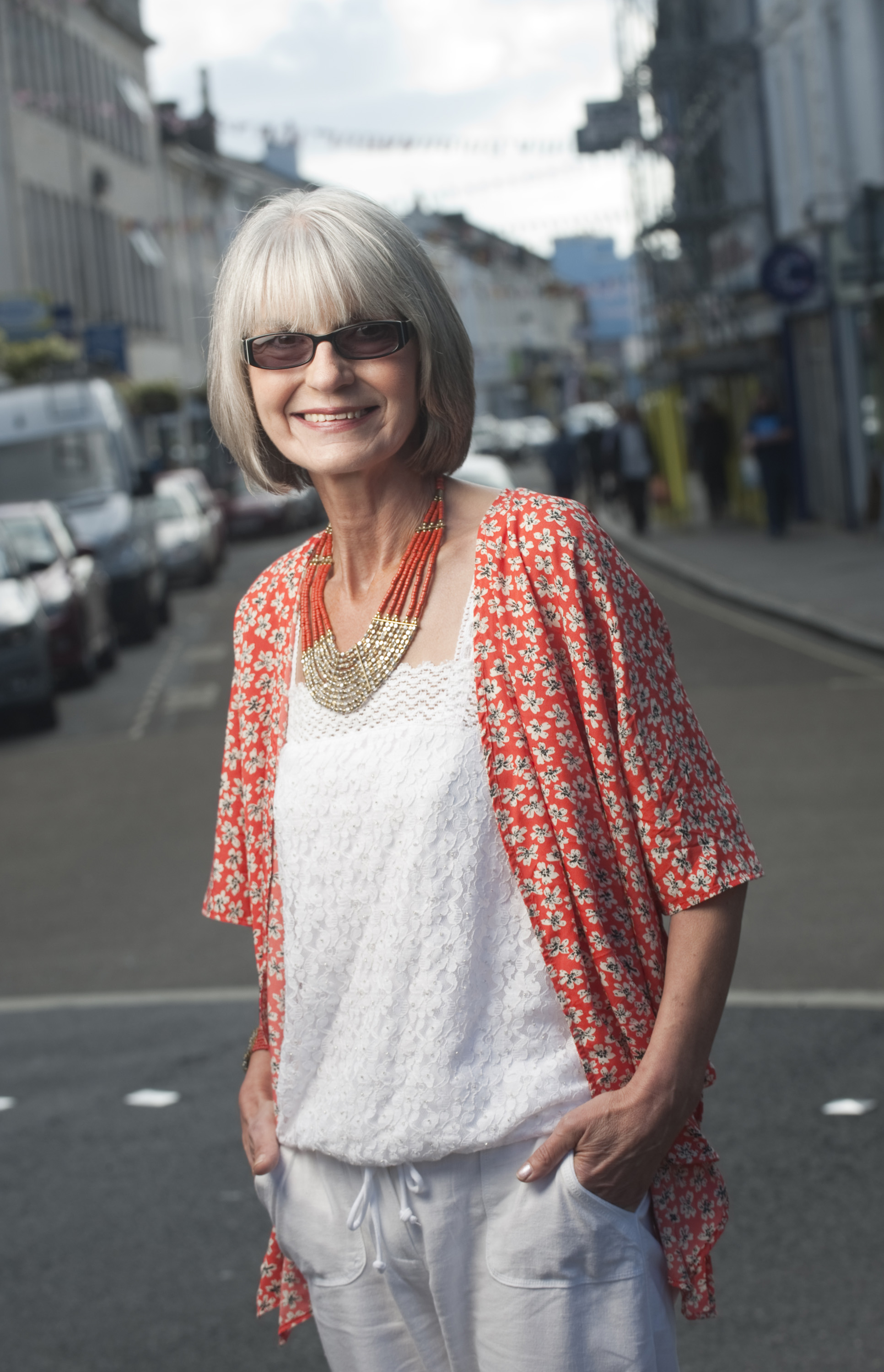 Donna Bearne, South West England regional finalist for Spectacle Wearer of the Year