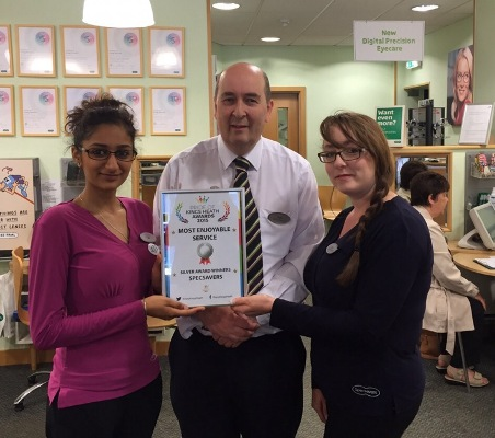 Most enjoyable service - Kings Heath scoops silver