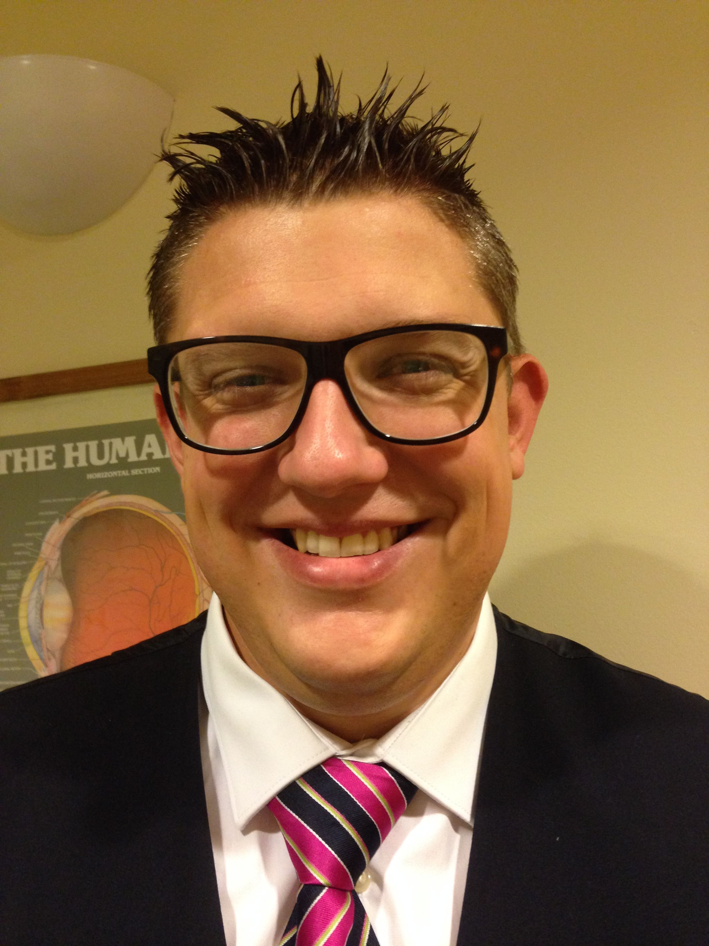 Matt store manager and dispensing optician of Redhill Specsavers