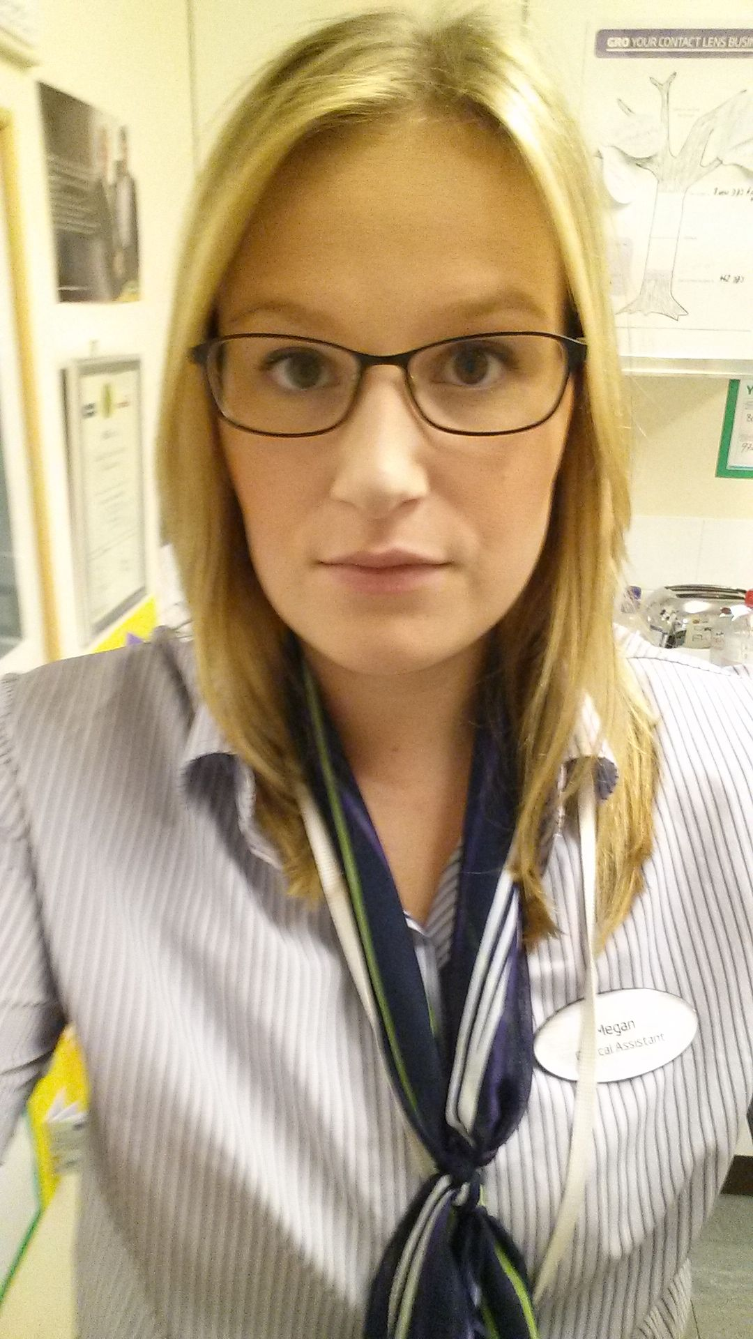 Megan Watson, optical assistant at Specsavers Seaford