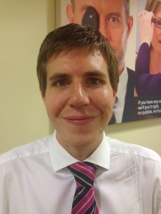 Nicholas Bradshaw optician at Specsavers Opticians and Hearing Centre Redhill