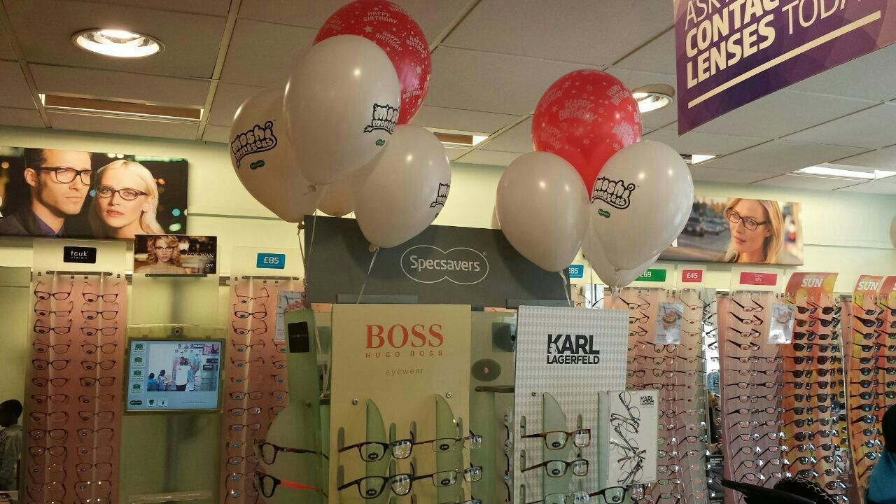 Dalston Cross Specsavers on the 17th anniversary