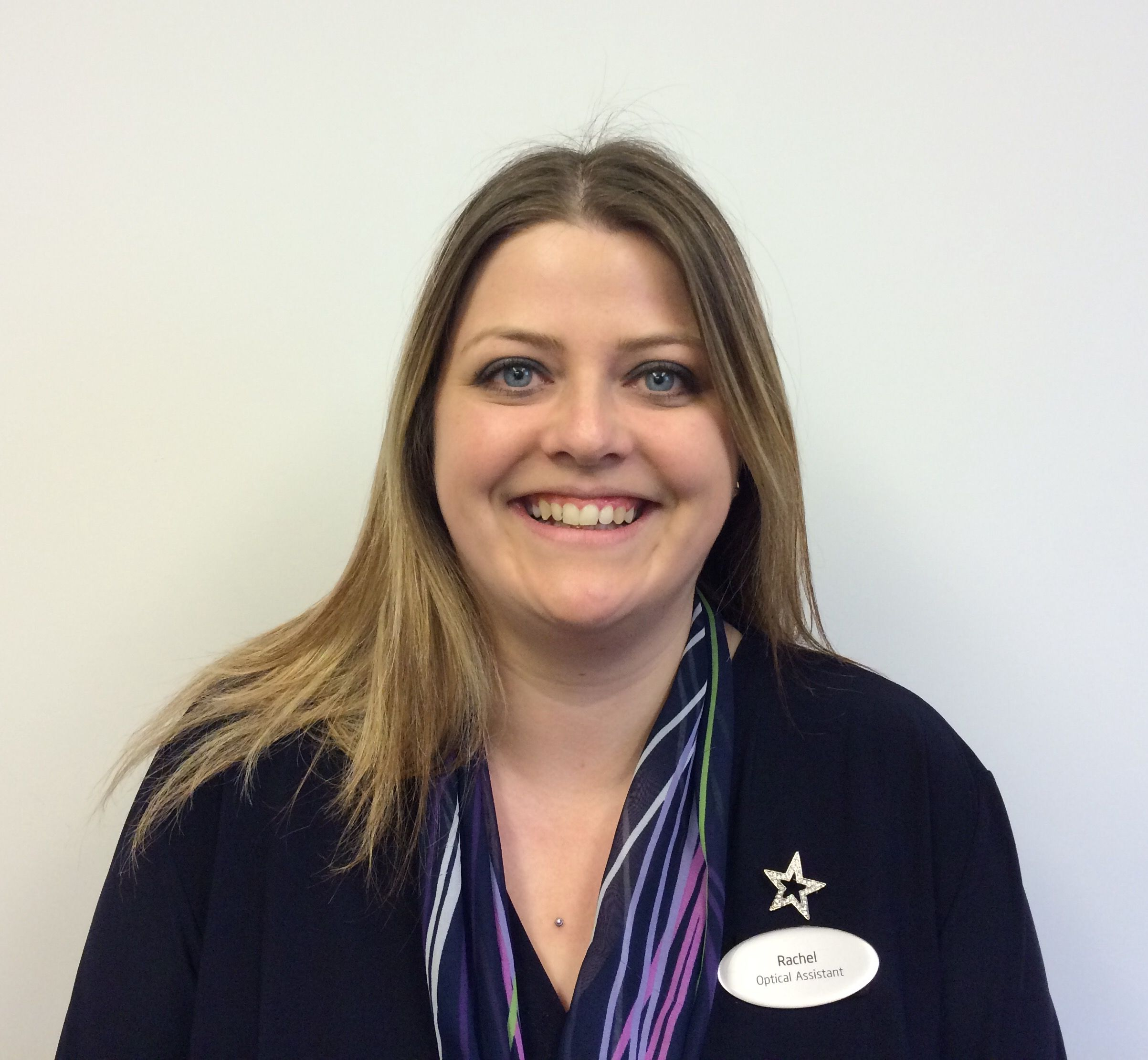 Rachel Colcombe, optical and contact lens assistant at Specsavers Worthing