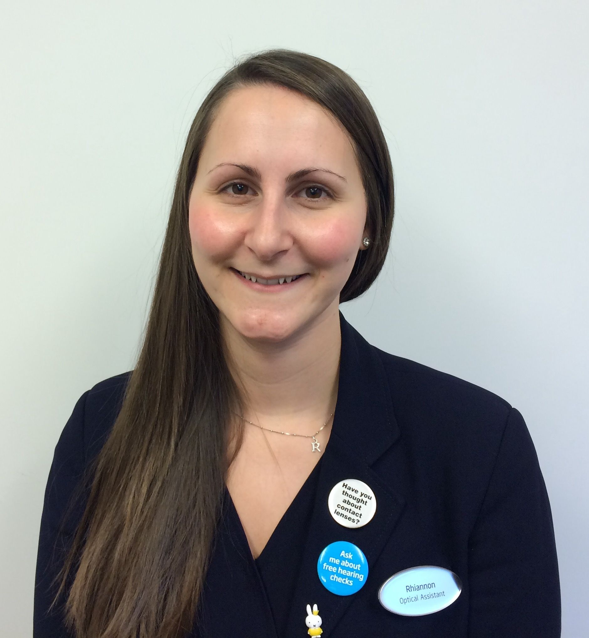 Rhiannon Stracey, in store administrator and optical assistant at Specsavers Worthing