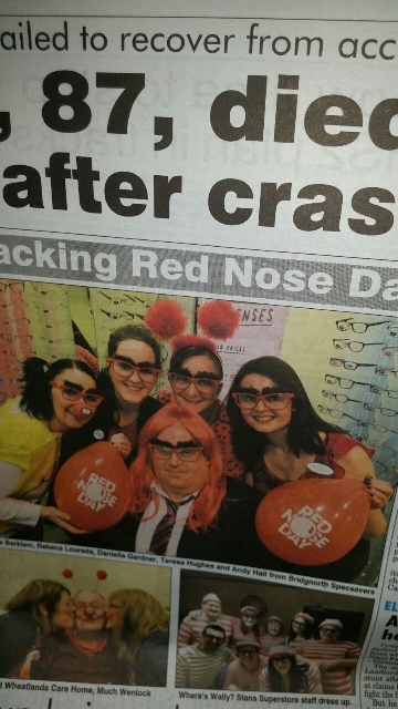 The Shropshire Star captured the fun and games at Bridgnorth Specsavers