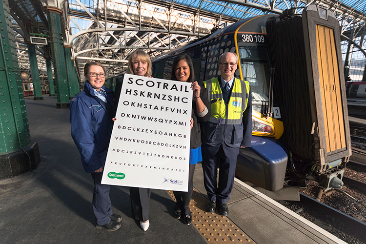 New-service success for Specsavers with ScotRail