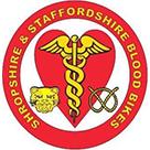 Shropshire and Staffordshire Blood Bikes logo
