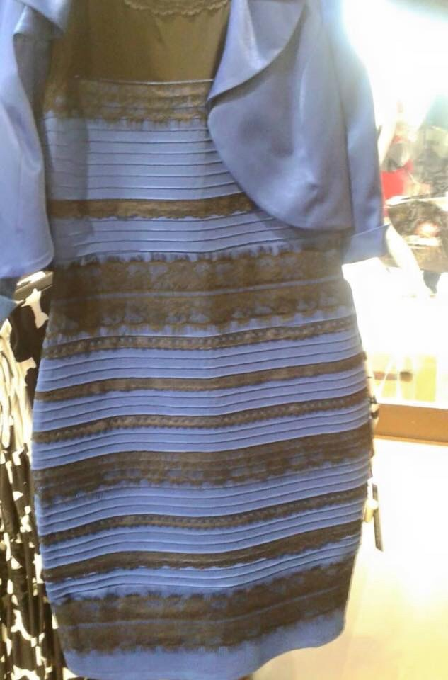 That Dress - white and gold and black and blue?